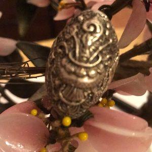 Antique 925 art ring